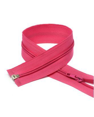Молния пласт. спираль №5-N 40см цв.F144 ярк.розовый арт. МГ-71923-1-МГ0372868