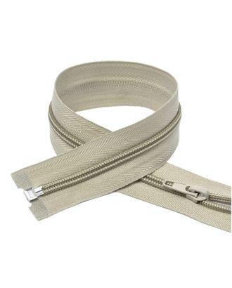 Молния пласт. спираль №5-N 90см цв.F310 св.серый арт. МГ-71090-1-МГ0333236
