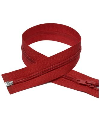 Молния пласт. спираль №5-N 60см цв.F148 красный арт. МГ-71040-1-МГ0333176