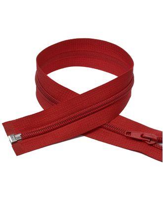 Молния пласт. спираль №5-N 40см цв.F148 красный арт. МГ-70901-1-МГ0274457