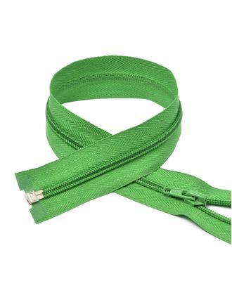 Молния пласт. спираль №5-N 75см цв.F243 зеленый арт. МГ-72037-1-МГ0373031