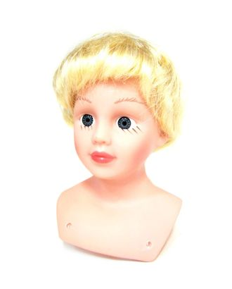 Волосы прямые короткие П80 цв.блондин арт. МГ-6668-1-МГ0501274