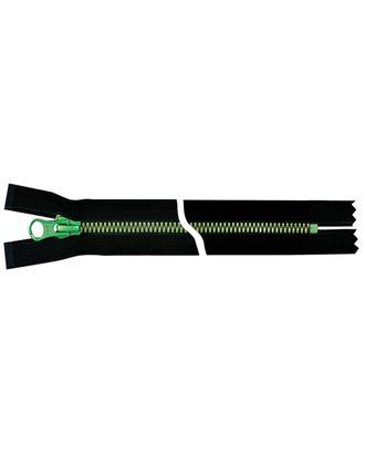 Молния YKK Metalux, однозамковая, зеленый, Т5 20см арт. СВКТ-2270-2-СВКТ253321.S3_250096