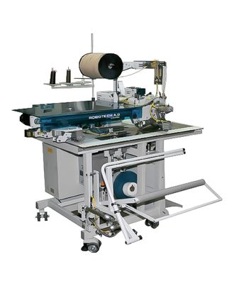 Машина для изготовления прямого кармана в рамку с молнией Robotech FF5000 TR/ZP 16 мм (Комплект) арт. ТМ-3581-1-ТМ0652665