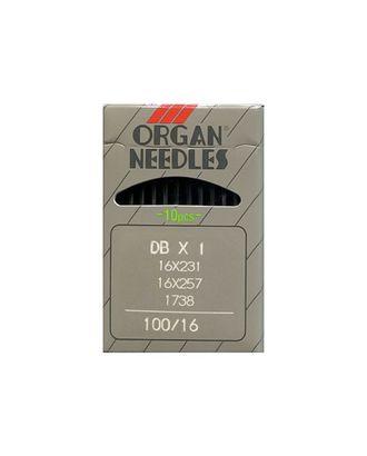 Иглы ORGAN №100/16 арт. МГ-67310-1-МГ0749452