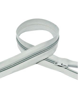 Молния пласт. спираль №5-N 45см цв.F314 св.серый арт. МГ-71769-1-МГ0370834