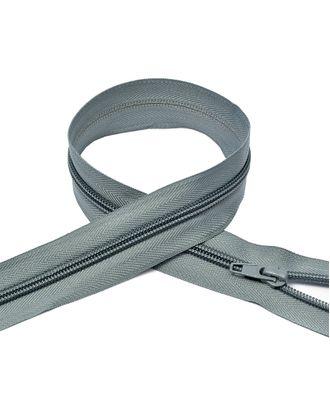 Молния пласт. спираль №5-N 75см цв.F316 серый арт. МГ-72044-1-МГ0373039
