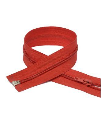 Молния пласт. спираль №5-N 80см цв.F162 красный арт. МГ-70676-1-МГ0263253