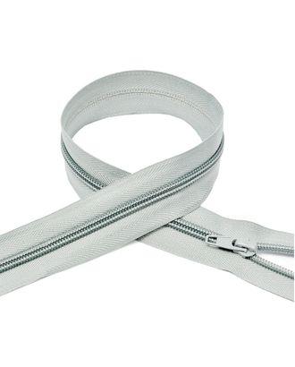 Молния пласт. спираль №5-N 85см цв.F314 св.серый арт. МГ-72085-1-МГ0373084