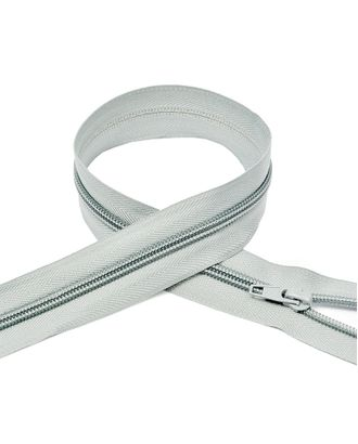 Молния пласт. спираль №5-N 70см цв.F314 св.серый арт. МГ-72028-1-МГ0373020