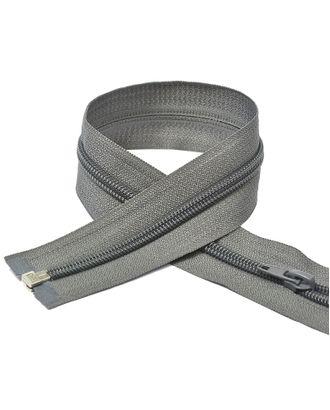Молния пласт. спираль №5-N 80см цв.F312 т.серый арт. МГ-71068-1-МГ0333209