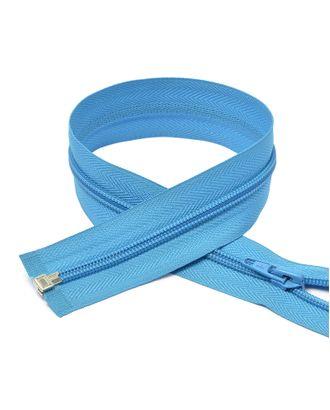 Молния пласт. спираль №5-N 65см цв.F216 голубой арт. МГ-69003-1-МГ0216576