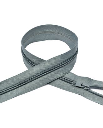 Молния пласт. спираль №5-N 60см цв.F316 серый арт. МГ-71049-1-МГ0333185