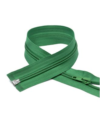 Молния пласт. спираль №5-N 75см цв.F258 зеленый арт. МГ-70660-1-МГ0263235