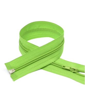 Молния пласт. спираль №5-N 18см цв.F238 ярк.зеленый арт. МГ-71895-1-МГ0372833