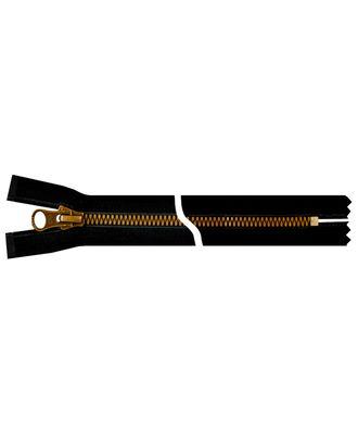 Молния YKK Metalux, однозамковая, античное золото, Т5 20см арт. СВКТ-2255-2-СВКТ253306.S3_250066