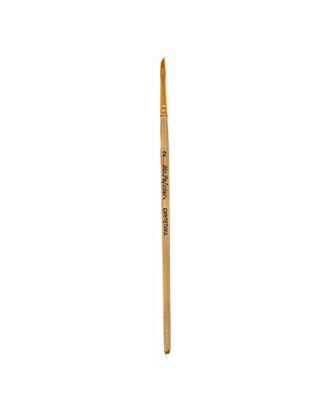 "Кисти синтетика ""Mr.Painter"" SBA 206-02 плоская со скосом 5 шт короткая ручка арт. ГММ-1008-1-ГММ0056645"