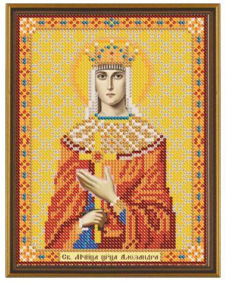 """Канва/ткань с рисунком """"Нова Слобода"""" для вышивания бисером №1 13 см х 17 см арт. ГММ-1642-28-ГММ0055470"""