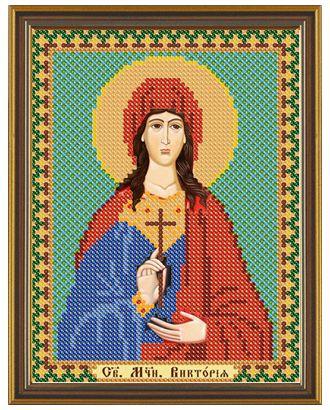 """Канва/ткань с рисунком """"Нова Слобода"""" для вышивания бисером №1 13 см х 17 см арт. ГММ-1642-31-ГММ0036324"""