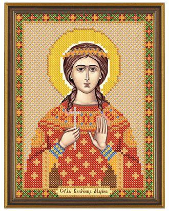 """Канва/ткань с рисунком """"Нова Слобода"""" для вышивания бисером №1 13 см х 17 см арт. ГММ-1642-34-ГММ0055075"""