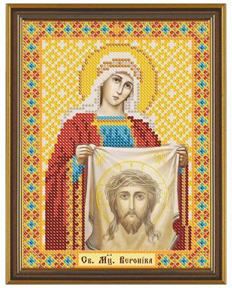 """Канва/ткань с рисунком """"Нова Слобода"""" для вышивания бисером №1 13 см х 17 см арт. ГММ-1642-4-ГММ0071744"""