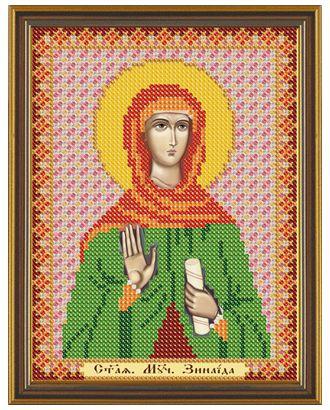 """Канва/ткань с рисунком """"Нова Слобода"""" для вышивания бисером №1 13 см х 17 см арт. ГММ-1642-2-ГММ0068757"""