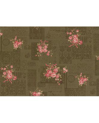 Ткани для пэчворка PEPPY ANTIQUE ROSE PANEL ФАСОВКА 60 x 110 см 112±4 г/кв.м 100% хлопок СК/Распродажа арт. ГММ-4555-3-ГММ0029466