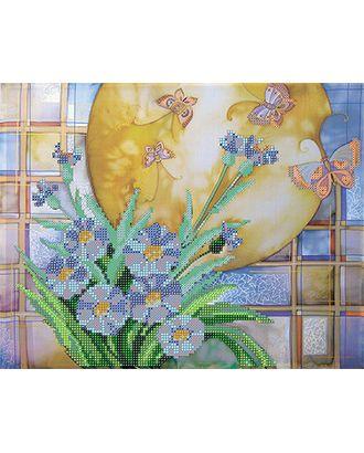 Канва/ткань с рисунком Основа с рисунком для вышивания бисером 30 x 39 см арт. ГММ-5676-3-ГММ0068855