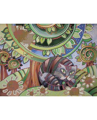 Канва/ткань с рисунком Основа с рисунком для вышивания бисером 30 x 39 см арт. ГММ-5676-1-ГММ0072698