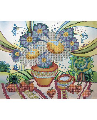Канва/ткань с рисунком Основа с рисунком для вышивания бисером 30 x 39 см арт. ГММ-5676-7-ГММ0061880
