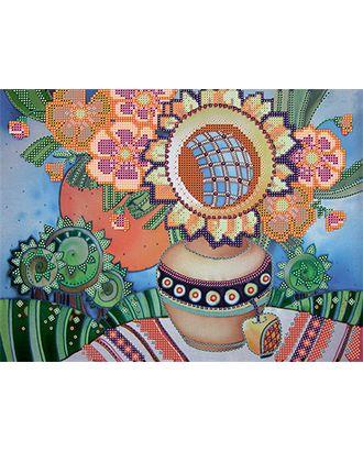 Канва/ткань с рисунком Основа с рисунком для вышивания бисером 30 x 39 см арт. ГММ-5676-6-ГММ0027301