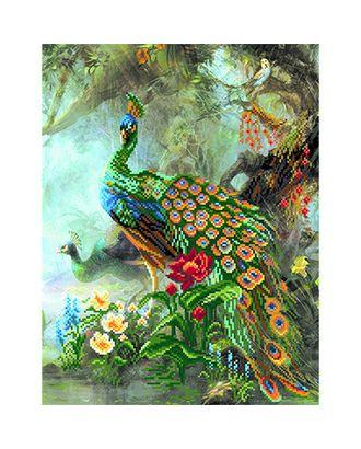 """Канва/ткань с рисунком """"Матренин посад"""" для вышивания бисером 37 см х 49 см арт. ГММ-1165-18-ГММ0049713"""