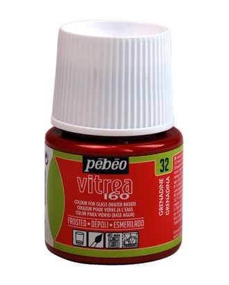"Краска по стеклу матовая под обжиг ""PEBEO"" Vitrea 160 45мл арт. ГММ-13818-8-ГММ0074779"