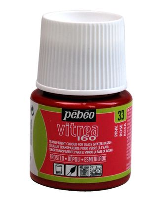 "Краска по стеклу матовая под обжиг ""PEBEO"" Vitrea 160 45мл арт. ГММ-13818-9-ГММ0052491"