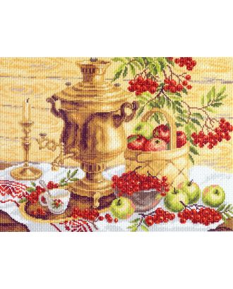 "Канва/ткань с рисунком ""Матренин посад"" №14 37 см х 49 см арт. ГММ-7008-114-ГММ0080008"