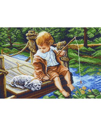 "Канва/ткань с рисунком ""Матренин посад"" №14 37 см х 49 см арт. ГММ-7008-113-ГММ0080107"