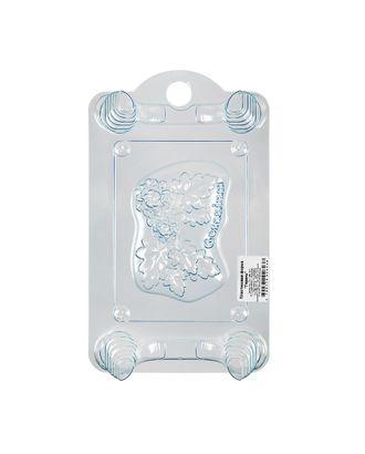 """Пластиковая форма для мыла """"BUBBLE TIME"""" №01 арт. ГММ-4989-21-ГММ0055984"""