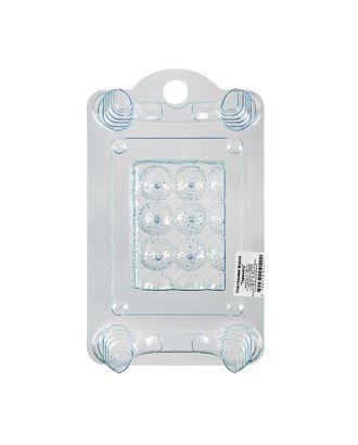 """Пластиковая форма для мыла """"BUBBLE TIME"""" №01 арт. ГММ-4989-50-ГММ0006030"""