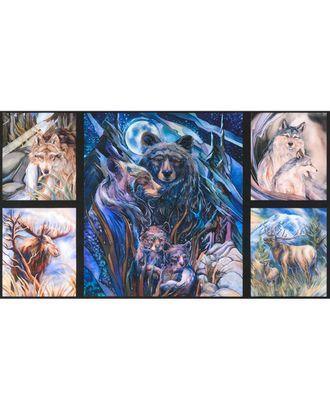 Ткани для пэчворка PEPPY NORTH AMERICAN WILDLIFE 6 PANEL ФАСОВКА 60 x 110 см 146±5 г/кв.м 100% хлопок арт. ГММ-10329-1-ГММ0001313