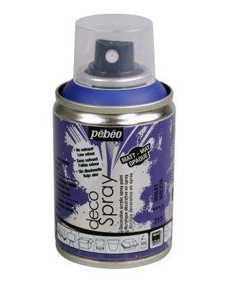 """PEBEO"" Краска на водной основе decoSpray (аэрозоль) 100 мл арт. ГММ-10682-15-ГММ0077677"
