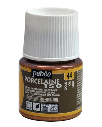 "Краска по фарфору и керамике под обжиг глянцевая ""PEBEO"" Porcelaine 150 45мл арт. ГММ-10772-3-ГММ0066925"