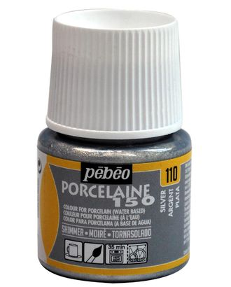 "Краска по фарфору и керамике под обжиг металлик ""PEBEO"" Porcelaine 150 45мл арт. ГММ-10773-2-ГММ0076553"