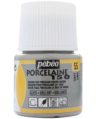 "Краска по фарфору и керамике под обжиг глянцевая ""PEBEO"" Porcelaine 150 45мл арт. ГММ-10772-17-ГММ0025419"