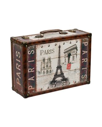 """Шкатулка """"чемоданчик"""" DBQ-01 39x27x14 см арт. ГММ-4407-4-ГММ0028208"""