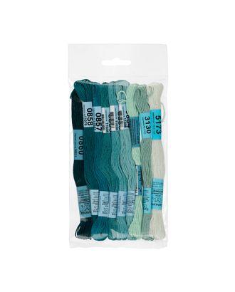 Нитки для вышивания набор мулине № 10 100% хлопок 9x8м арт. ГММ-943-9-ГММ0058625