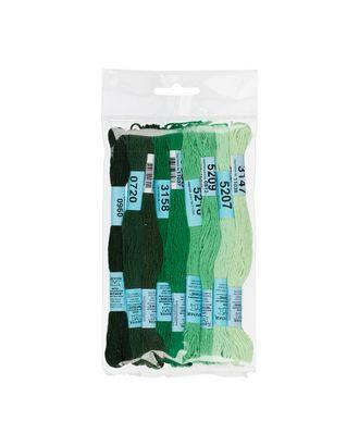 Нитки для вышивания набор мулине № 10 100% хлопок 9x8м арт. ГММ-943-6-ГММ0039639