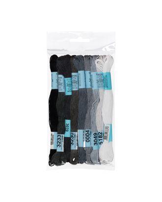 Нитки для вышивания набор мулине № 10 100% хлопок 9x8м арт. ГММ-943-8-ГММ0037742