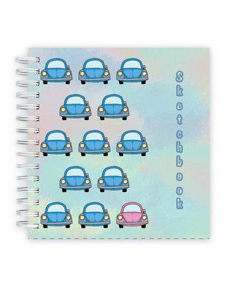 """STILSY"" SBS-0480 Скетчбук Ассорти, обложка 7БЦ бумага тонированная 80 г/м2 19.5 х 19.5 см на гребне 80 л. арт. ГММ-12144-4-ГММ0037589"