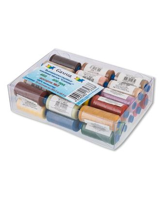 Швейные нитки (полиэстер) 40/2 ассорти 400я 365м арт. ГММ-3374-3-ГММ0000967