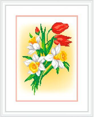 """Канва/ткань с рисунком """"М.П.Студия"""" №1 21 см х 30 см арт. ГММ-13084-7-ГММ0070512"""